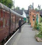 A UK Railway Train Station