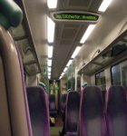 Interior of a UK Train
