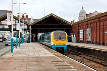 Arriva Trains Wales: Leaving A Station