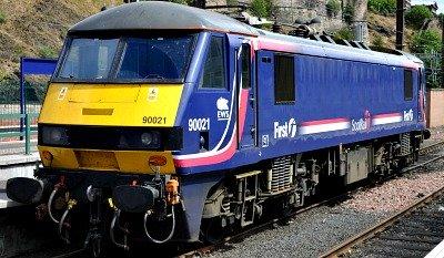 First ScotRail Train