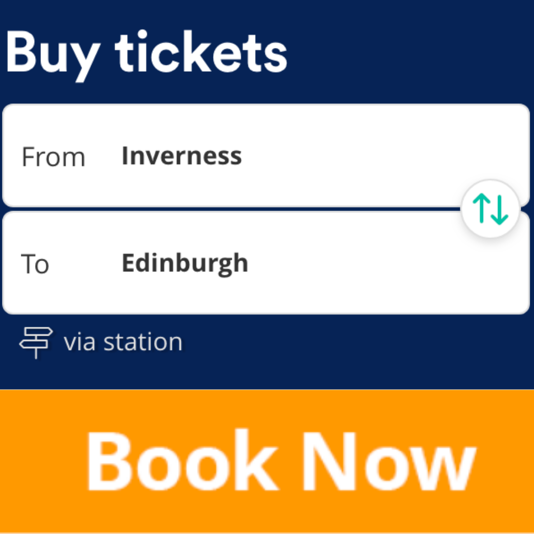 Book cheap train tickets from Inverness to Edinburgh here.