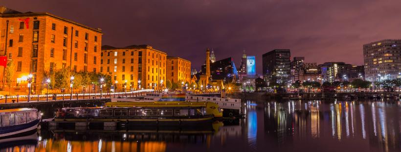 City of Liverpool, UK.